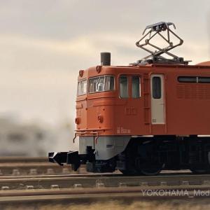 EF65 123号機・ユウユウサロン岡山塗装が入線しました。(オレンジ)TOMIX 93569