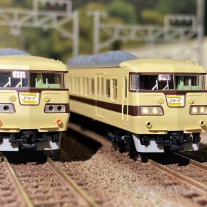 117系 0番代「新快速」が入線しました。TOMIX 98696