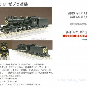 更新【KATO京都駅店】8630 ゼブラ塗装 特製品 11月末発売予定!#kato