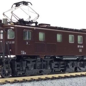 KATO京都駅店  EF15 186 竜華機関区 特製品 12月下旬発売予定 #kato