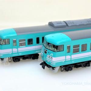 117系 和歌山色混成編成が入線しました。トレインボックス TOMIX 93223