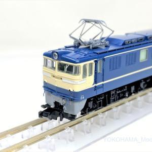 EF60 500番台 特急色が入線です。 TOMIX 7147
