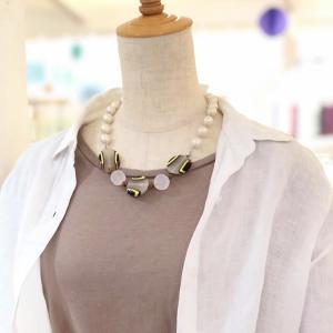 うめだ阪急百貨店のネックレスが実はシニアレッスン作品だった!
