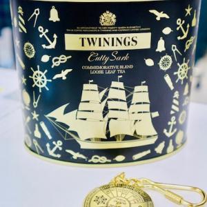 カティーサーク号の紅茶&ザ・ランガムのスコーン