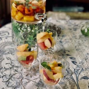 夏のフルーツを楽しむお茶会☆フルーツティー
