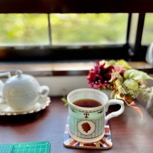 朝のティータイム☆元気に過ごせるために♪