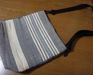 紙糸バッグの裏布取り換え