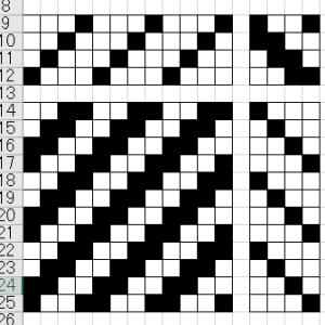 織物用組織図マクロ Ver.4.1.0