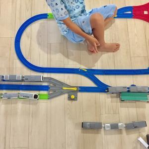 """4歳の息子が飽きずに遊んだ""""プラレールレイアウト"""" パート2"""