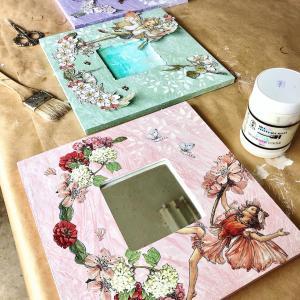 レッスン中の様子*お花の妖精のシリーズ作品