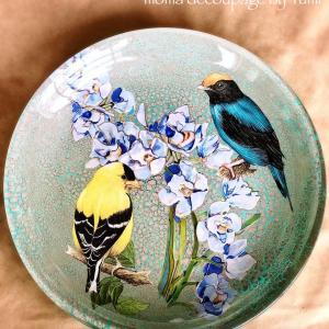 七宝焼きのようにキラキラ輝くガラスの作品*カランブール社マスタークラス