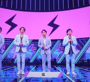 CDTVライブの嵐(智くん)