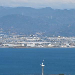 田原市蔵王山からの眺め