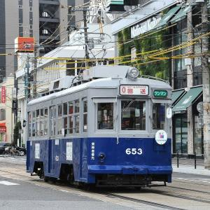 広島電鉄653号