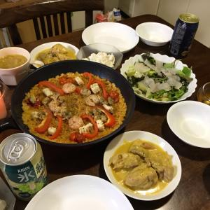 GWの締めと母の日料理