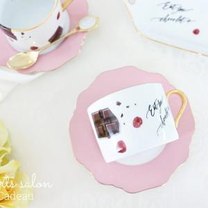 バレンタインシーズンに♡リアルチョコレートのティーセット