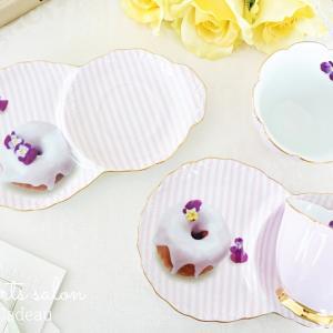 リアルなドーナッツが可愛い♡カフェスタイルのカップ&ソーサー