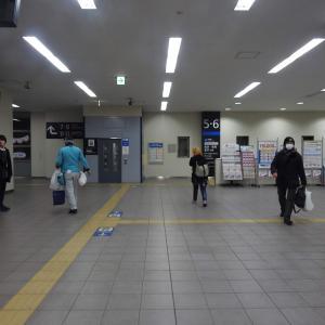 米原駅/JR西日本/東海道線-北陸線/滋賀県米原市/2019年3月