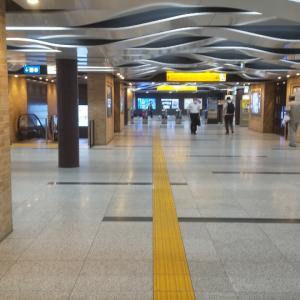 阪神神戸三宮駅/阪神電鉄本線/兵庫県神戸市中央区/2020年7月(7月10日)