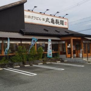 トリドール⑱/丸亀製麺魚住店/カレーうどん(並),白ごはん,長なす天/760円
