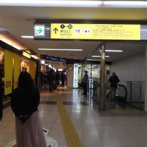 大阪難波駅/近畿日本鉄道&阪神電鉄/大阪市中央区/2019年4月
