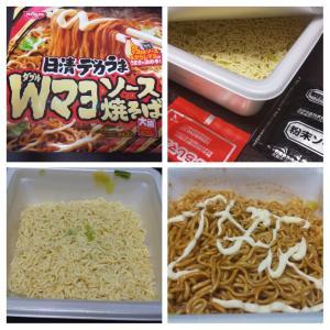 日清食品/日清デカうまWマヨソース焼そば/88円+税