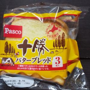 Pasco/十勝バターブレッド/105円税込
