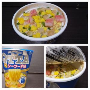東洋水産(マルちゃん)/QTTAシーフード味/105円税込