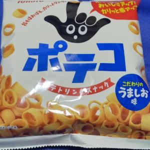 東ハト/ポテコこだわりのうましお味/78円