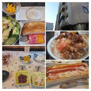 スマイルホテル名古屋新幹線口/名古屋市中村区/朝食(洋食)&お茶漬けバイキング