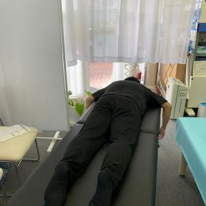 新しい施術ベッド