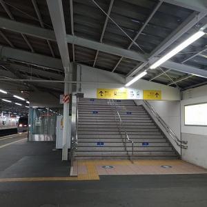 秋津駅から新秋津駅への乗り換えに注意。看板って難しい