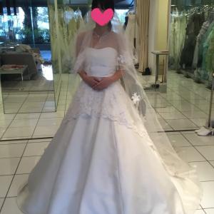 ウエディングドレス選びに行ってきました