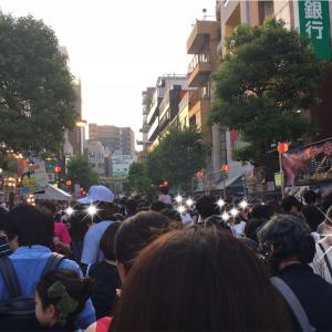 数年ぶりの麻布十番祭!100人以上街の「富麗華」の第二会場が穴場