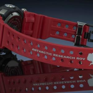南極での無人湖水調査とコラボしたGショック FROGMANの新作|G-SHOCK