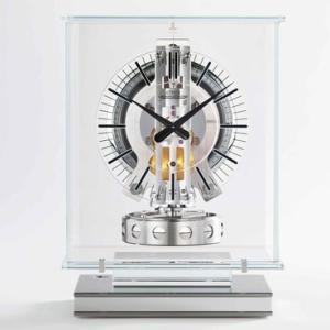ジャガー・ルクルトの新作置時計「アトモス・トランスパラント」|JAEGER-LECOULTRE