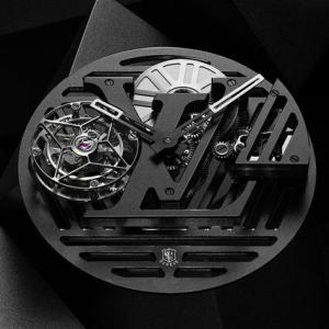メゾンを象徴する「タンブール」を再解釈。「タンブール カーブ フライング トゥールビヨン ポワンソン・ド・ジュネーヴ」|LOUIS VUITTON