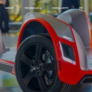 好きな車体をカスタマイズできるEV(電気自動車)シャーシを開発するREE Automotive 多くの日本企業がパートナーに名を連ねる
