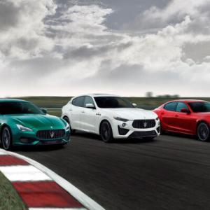 マセラティ、ギブリとクアトロポルテにもフェラーリ製V8搭載の「トロフェオ」登場 Maserati