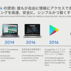 もうすぐ10周年を迎えるChromebookの10の特徴をGoogleが解説