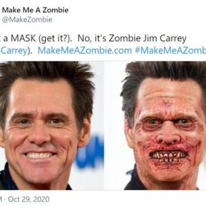 AI(人工知能)で人間の顔をゾンビ化する「Make Me A Zombie」
