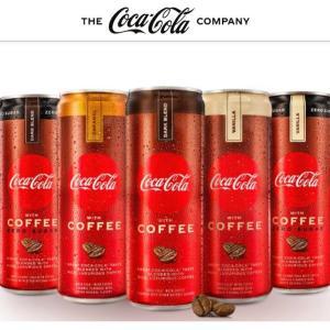 全米で発売となったコーヒー入りコカ・コーラ「Coca-Cola with Coffee」