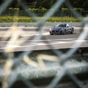 ピュアEVとなる次期型グラントゥーリズモのプロトタイプ写真を公開|Maserati