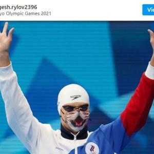 ネコ愛溢れる東京オリンピック競泳ROC代表のエフゲニー・リロフ選手 「確かネコ6匹飼ってるんだよね」「彼の大ファンになりました」