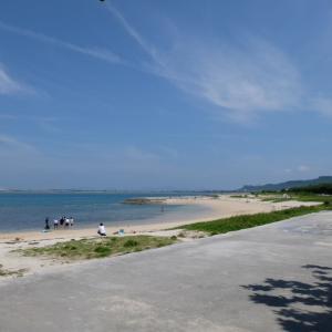 【子連れ旅行】母娘(7ヶ月ベビー)3代の沖縄旅行♪瑠庵+島色のかき氷~伊計ビーチで海水浴