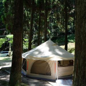 【子連れキャンプ】佐賀の無料キャンプ場♪北山ダムキャンプ場!の前に早良の蕎波人♪