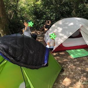 【子連れキャンプ】福岡☆昭和の森キャンプ場 母娘3代ゆるゆるキャンプ〜♪