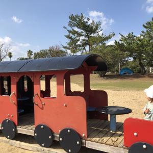 【子連れおでかけ】福岡☆海の中道海浜公園 広大な公園と遊具の数にびっくり!
