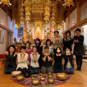 《イベントレポ》新月のお寺でヨガ&シンギングボウル音浴会