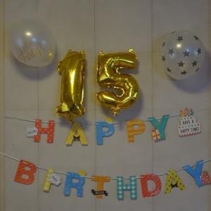〓15歳の誕生日〓